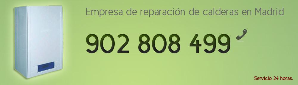 Reparacion de calderas en Madrid 902 808 499. Servicio tecnico